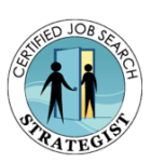 Certified Job Search Strategist logo_Rebecca Bosl Executive Resume Writer