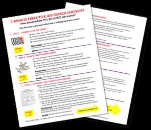 7-Minute Executive Job Search Checklist_DreamLifeTeam.com